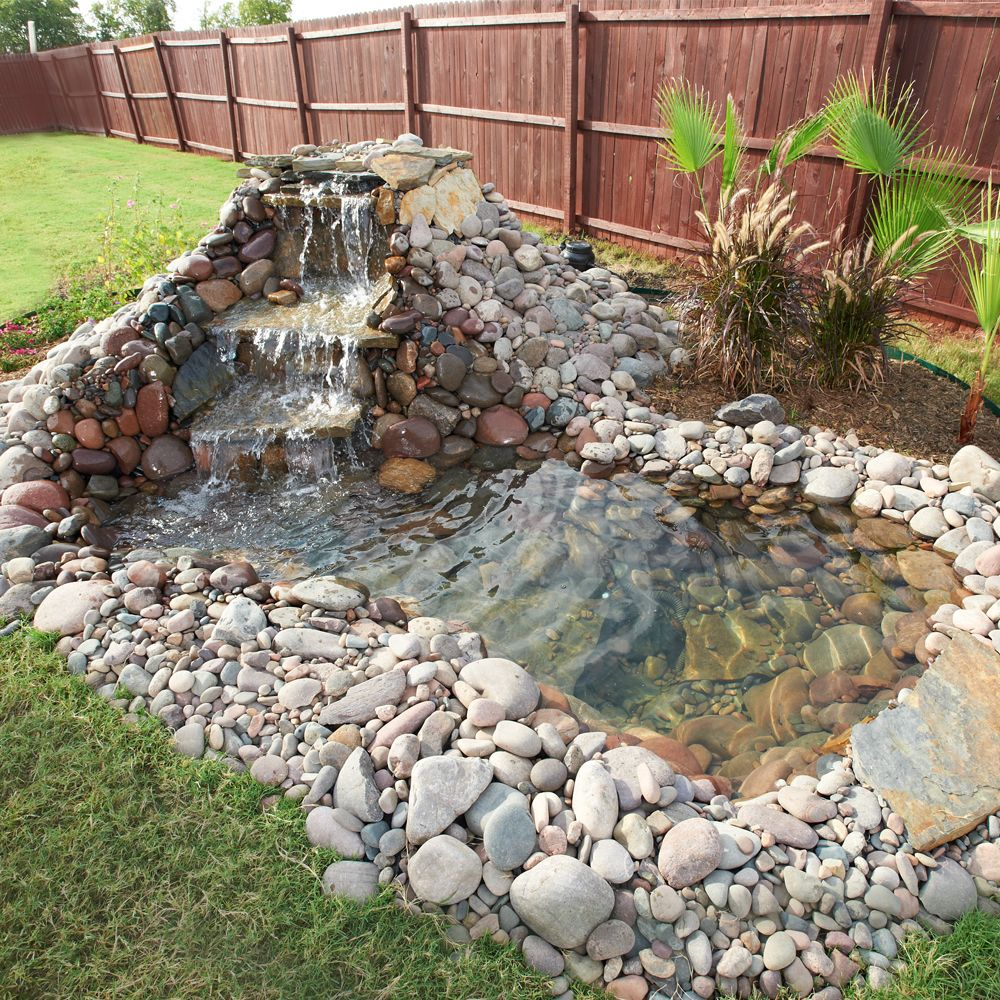 Landscape Pros - Stone Pond
